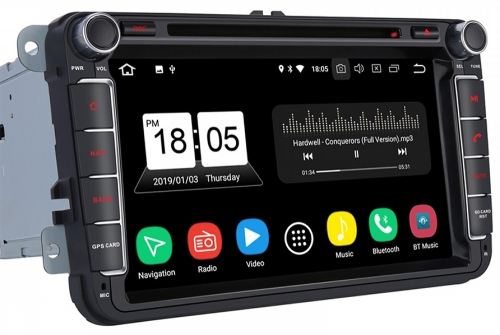vw-golf-8inch-android-radio